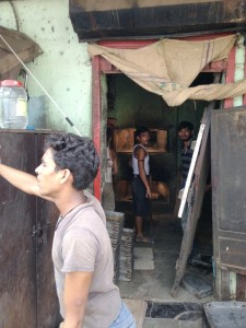 A tiny bakery - Dharavi is full of small businesses like this